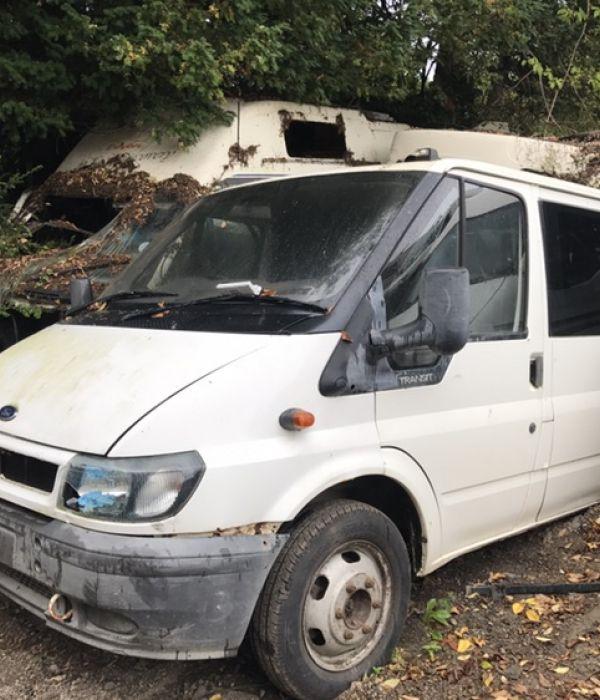 06 Ford Transit 2 4tdi Lwb: Vehicles Breaking At T&B Motors. See What Vans We Are